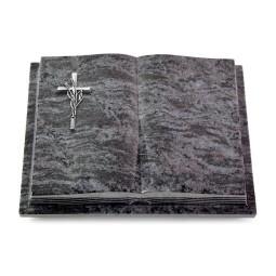 Livre Podest Folia/Indisch Black Kreuz/Ähren (Alu)