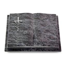 Livre Podest Folia/Indisch Black Kreuz/Rose (Alu)