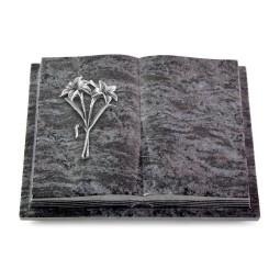 Livre Podest Folia/Indisch Black Lilie (Alu)