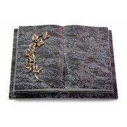 Livre Podest Folia/Indisch Black Efeu (Bronze)