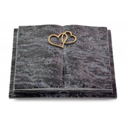 Livre Podest Folia/Indisch Black Herzen (Bronze)