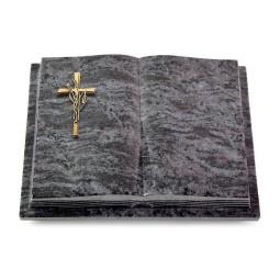 Livre Podest Folia/Indisch Black Kreuz/Ähren (Bronze)