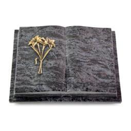 Livre Podest Folia/Indisch Black Lilie (Bronze)