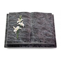 Livre Podest Folia/Indisch Black Orchidee (Color)