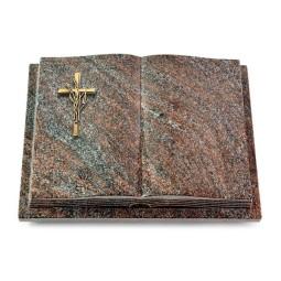 Livre Podest Folia/Orion Kreuz/Ähren (Bronze)
