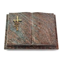 Livre Podest Folia/Orion Kreuz/Rose (Bronze)