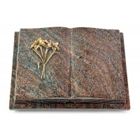 Livre Podest Folia/Orion Lilie (Bronze)