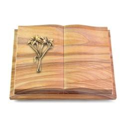 Livre Podest Folia/Paradiso Lilie (Bronze)