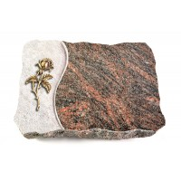 Himalaya Wave Kreuz/Rose (Bronze)