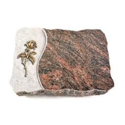 Himalaya Wave Kreuz/Rose (Bronze)