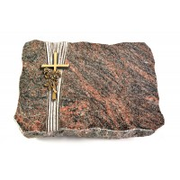 Himalaya Strikt Kreuz/Ähren (Bronze)