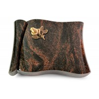 Voltaire/Raw Silk Rose 3 (Bronze)
