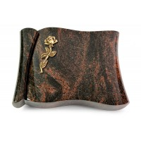 Voltaire/Raw Silk Rose 7 (Bronze)