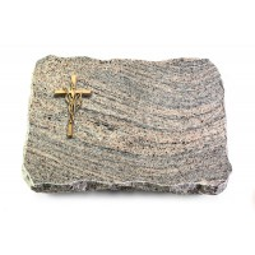Indisch Black Pure Kreuz/Ähren (Bronze)