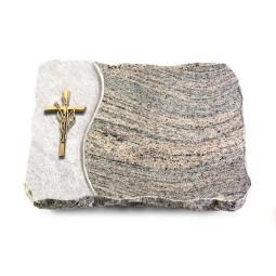 Indisch Black Wave Kreuz/Ähren (Bronze)