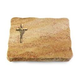 Juparana/Pure Kreuz/Ähren (Bronze)