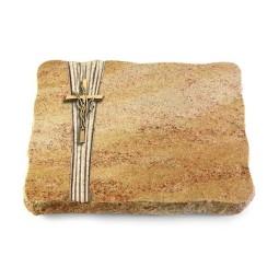 Juparana/Strikt Kreuz/Ähren (Bronze)