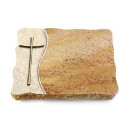 Juparana/Wave Kreuz 2 (Bronze)