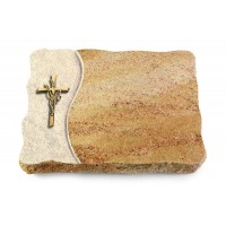 Juparana/Wave Kreuz/Ähren (Bronze)