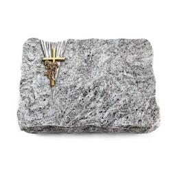 Kashmir/Delta Kreuz/Rose (Bronze)