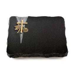 Indisch Black Delta Herzen (Bronze)