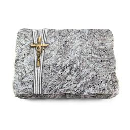 Kashmir/Strikt Kreuz/Ähren (Bronze)