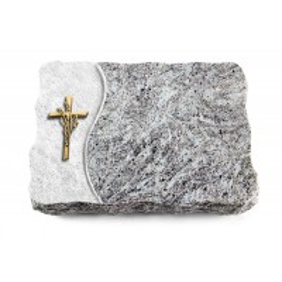 Kashmir/Wave Kreuz/Ähren (Bronze)