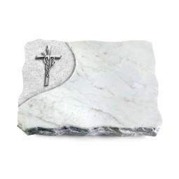 Marina Blue/Folio Kreuz/Ähren (Alu)