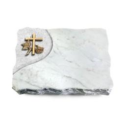 Marina Blue/Folio Kreuz 1 (Bronze)