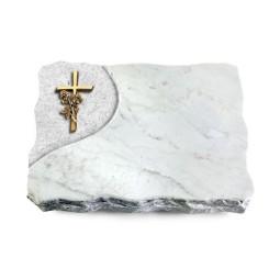 Marina Blue/Folio Kreuz/Rose (Bronze)