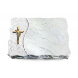 Marina Blue/Wave Kreuz/Ähren (Bronze)
