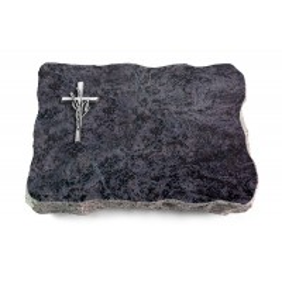 Omega Marmor/Pure Kreuz/Ähren (Alu)