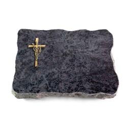 Omega Marmor/Pure Kreuz/Ähren (Bronze)
