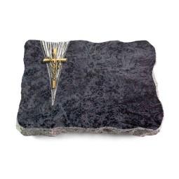 Omega Marmor/Delta Kreuz/Ähren (Bronze)