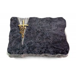 Omega Marmor/Delta Kreuz/Rose (Bronze)