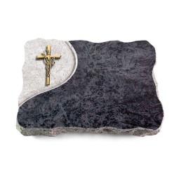 Omega Marmor/Folio Kreuz/Ähren (Bronze)