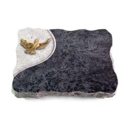Omega Marmor/Folio Taube (Bronze)