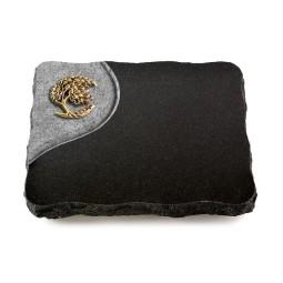 Indisch Black Folio Ähren 1 (Bronze)