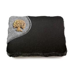 Indisch Black Folio Baum 2 (Bronze)