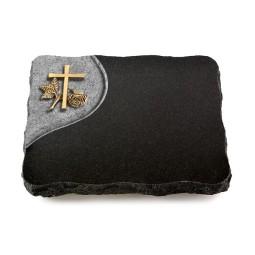 Indisch Black Folio Herzen (Bronze)