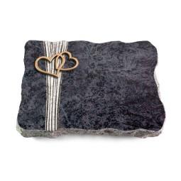 Omega Marmor/Strikt Herzen (Bronze)