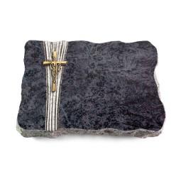 Omega Marmor/Strikt Kreuz/Ähren (Bronze)