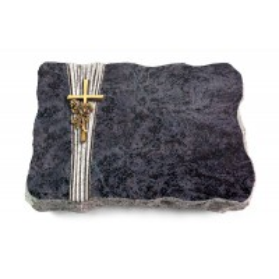 Omega Marmor/Strikt Kreuz/Rose (Bronze)