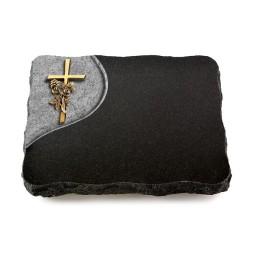 Indisch Black Folio Kreuz 1 (Bronze)