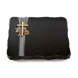 Indisch Black Strikt Herzen (Bronze)