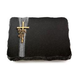 Indisch Black Strikt Kreuz/Ähren (Bronze)