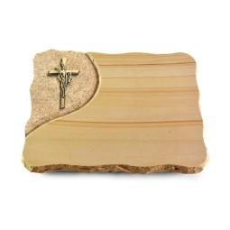 Rainbow/Folio Kreuz/Ähren (Bronze)