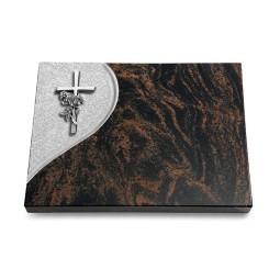 Aruba Folio Kreuz/Rose (Alu)