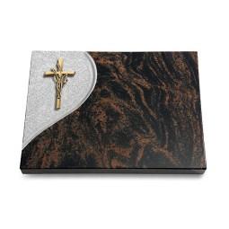 Aruba Folio Kreuz/Ähren (Bronze)