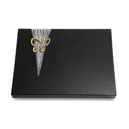 Grabtafel Aruba Delta Papillon (Bronze)
